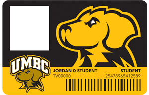 UMBC Campus ID card