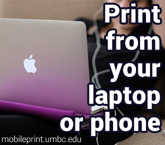 Print from your laptop or phone!
