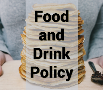 Featured Service: Food and Drink Policy