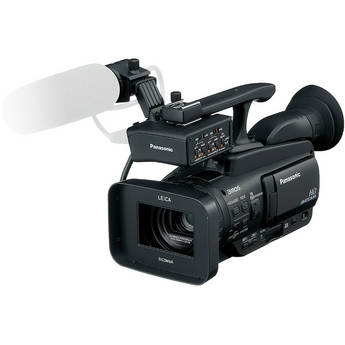 Panasonic AG-HMC40 AVCCAM HD Camcorder & AG-MYA30G XLR Mic Adapter / Holder