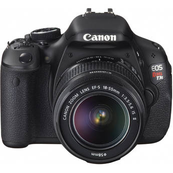 Canon Rebel T3i DSLR Camera