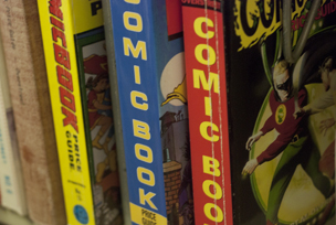 Comic book spines