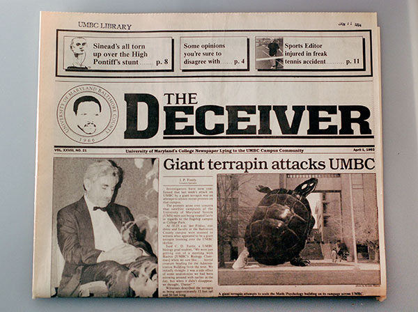 Archives Gold #26: 50 Objects for UMBC's 50th · Albin O